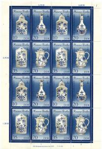 DDR 1989 Nr 3241-3244 postfrisch (700702)