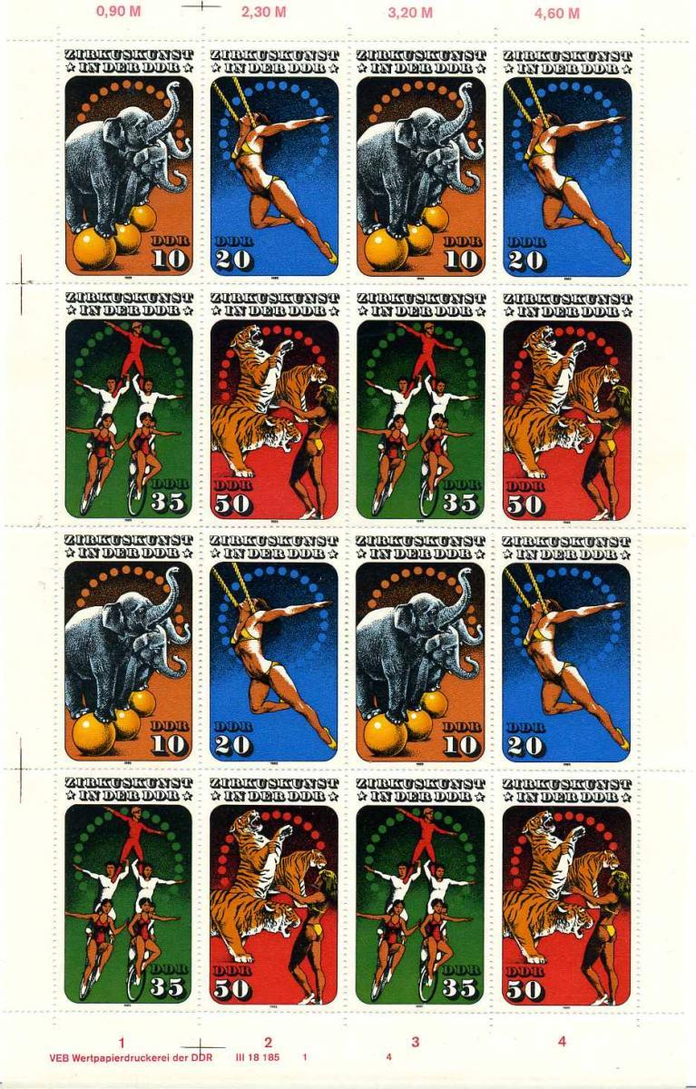 DDR 1985 Nr 2983-2986 postfrisch (700737) 0