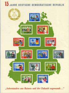 DDR 1964 Bl.19 postfrisch (700751)