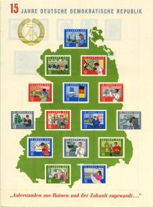 DDR 1964 Bl.19 postfrisch (700772)