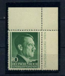 GENERALGOUVERNEMENT 1941 Nr 74 postfrisch (109982)