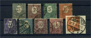 OBERSCHLESIEN 1920 Nr 1-9 gestempelt (110004)
