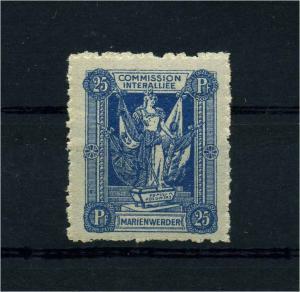 MARIENWERDER 1920 Nr 5A postfrisch (110158)