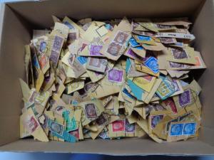 DEUTSCHES REICH 250gr. Paketkartenkiloware!!! (800047)