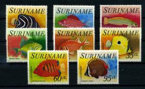 SURINAME 1976 Nr 722-729 postfrisch (110213)