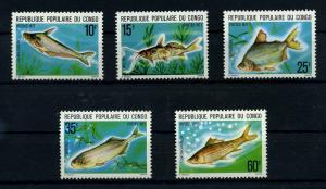 KONGO 1977 Nr 564-568 postfrisch (110216)