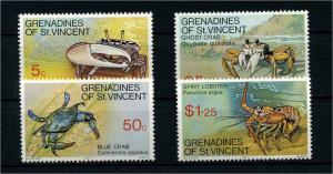 ST.VINCENT 1977 Nr 118-121 postfrisch (110223)