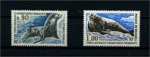 TAAF 1977 Nr 105-106 postfrisch (110228)