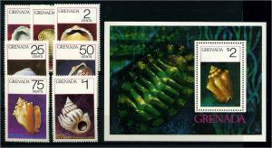 GRENADA 1975 Nr 685-691 postfrisch (110236)