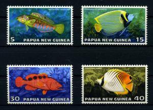PAPUA NEU GUINEA 1976 Nr 315-318 postfrisch (110237)