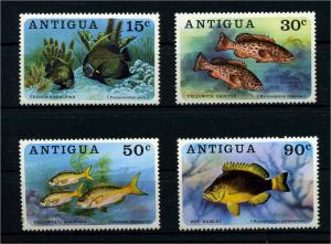 ANTIGUA 1976 Nr 438-441 postfrisch (110238)