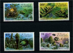 ST VINCENT 1976 Nr 75-78 postfrisch (110240)
