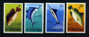 TANSANIA 1977 Nr 66-69 postfrisch (110243)