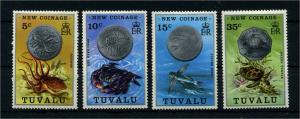 TUVALU 1976 Nr 19-22 postfrisch (110244)