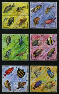BURUNDI 1974 Nr 1034-1157 postfrisch (110250)