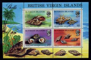 BRIT.VIRGIN INS. 1974 Bl.4 postfrisch (110264)