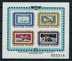 UNGARN 1974 Bl.109B postfrisch (110340)