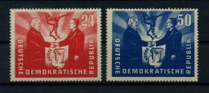 DDR 1951 Nr 284-285 postfrisch (110382)