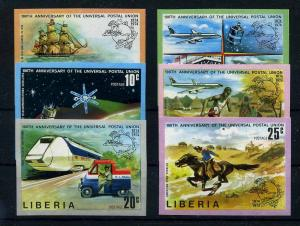 LIBERIA 1974 Nr 907-912B postfrisch (110751)