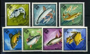 MONGOLEI 1975 Nr 952-958 postfrisch (110767)
