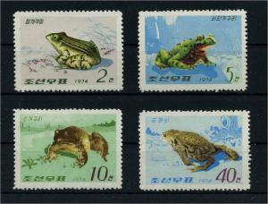 NORD-KOREA 1974 Nr 1271-1274 postfrisch (110769)
