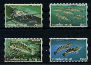 THAILAND 1976 Nr 799-802 postfrisch (110771)