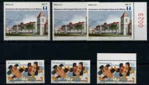 MEXIKO Lot aus 2003 postfrisch (110793)