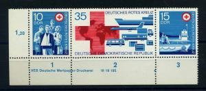 DDR 1972 Nr 1789-1791 postfrisch (110840)