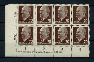 DDR 1963 Nr 938Zx postfrisch (110873)