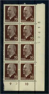 DDR 1963 Nr 938Zx postfrisch (110874)