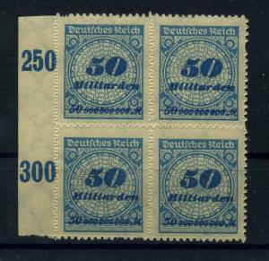 DEUTSCHES REICH 1923 Nr 330B postfrisch (110984)