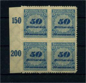 DEUTSCHES REICH 1923 Nr 330B postfrisch (110985)