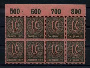 DEUTSCHES REICH 1922 Nr D71 postfrisch (110997)