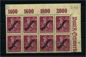 DEUTSCHES REICH 1923 Nr D75 postfrisch (111008)