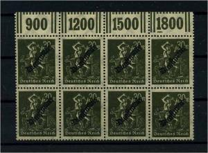 DEUTSCHES REICH 1923 Nr D76 postfrisch (111010)