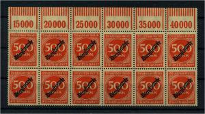DEUTSCHES REICH 1923 Nr D81 postfrisch (111018)