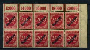DEUTSCHES REICH 1923 Nr D78 postfrisch (111019)