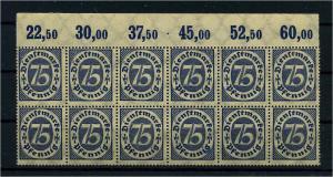 DEUTSCHES REICH 1922 Nr D69 postfrisch (111020)