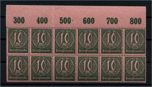 DEUTSCHES REICH 1921 Nr D68 postfrisch (111021)