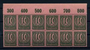 DEUTSCHES REICH 1921 Nr D68 postfrisch (111022)