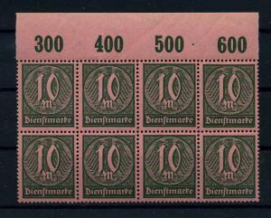 DEUTSCHES REICH 1921 Nr D68 postfrisch (111023)