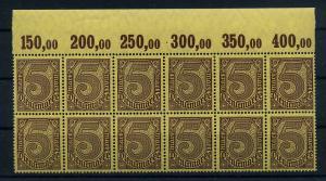 DEUTSCHES REICH 1920 Nr D33a postfrisch (111025)