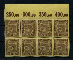 DEUTSCHES REICH 1920 Nr D33a postfrisch (111026)