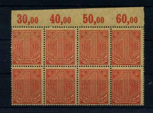 DEUTSCHES REICH 1920 Nr D30 postfrisch (111027)