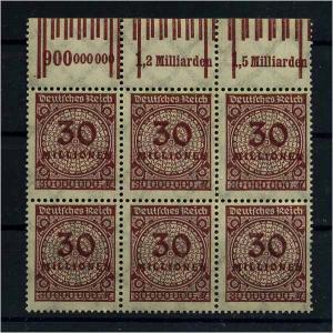 DEUTSCHES REICH 1923 Nr 320 postfrisch (111048)