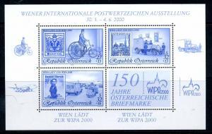 OESTERREICH 2000 Bl.14 postfrisch (111255)
