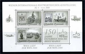 OESTERREICH 2000 Bl.14 postfrisch (111256)