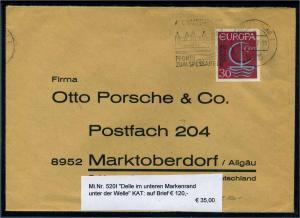 BUND 1968 Nr 520 I gestempelt (111786)