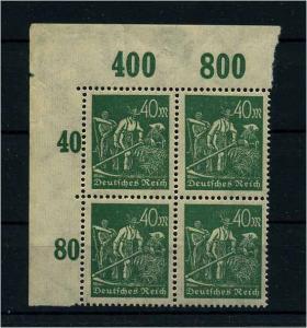 DEUTSCHES REICH 1922 Nr 244 II postfrisch (111807)