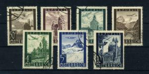 OESTERREICH 1947 Nr 822-828 gestempelt (112003)